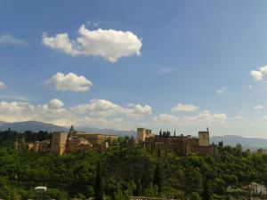 La Alhambra de Granada desde el Albaicín