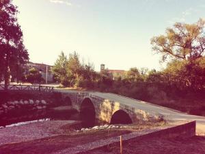 puente medieval. Villadiego