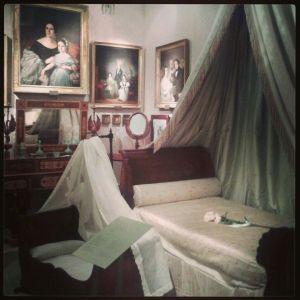 Museo del Romanticismo, habitación femenina.