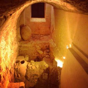 """Yacimiento Arqueológico """"Casa del Obisp"""", superposición de civilizaciones."""