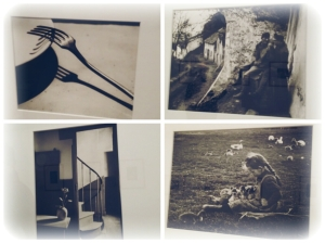 Fotografías de la etapa húngara (las dos de la izquierda, la primera son soldados de la Primera Guerra Mundial y la segunda campesinos) y la etapa Francesa (